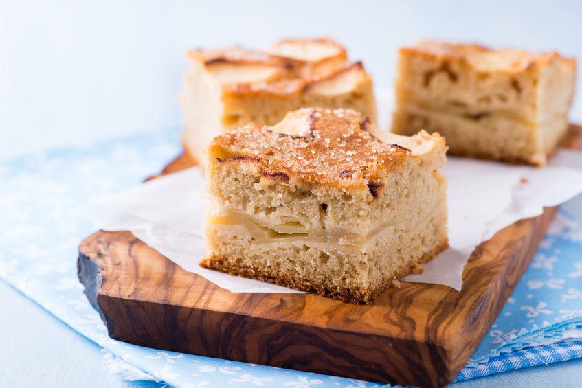 Gâteau pommes poires amandes sans lactose