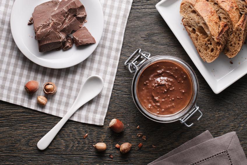 Pâte à tartiner chocolat-noisettes sans lactose