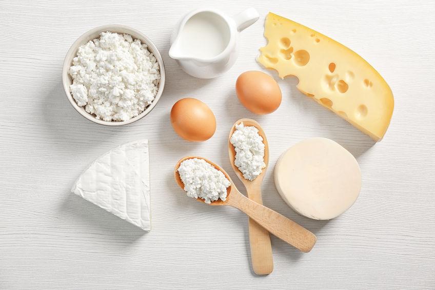 Teneur en lactose des principaux produits laitiers