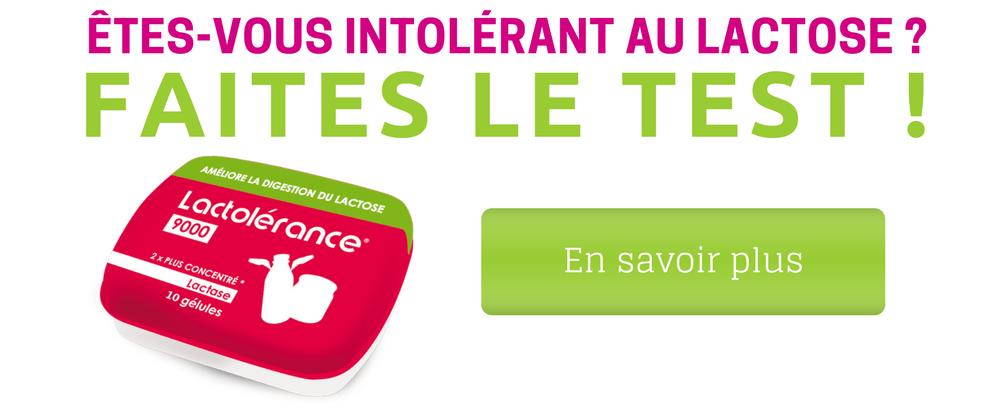 Test d'intolérance au lactose 9.90 €